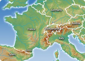 Mountain in Europe